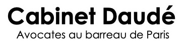 Logo cabinet avocat daude